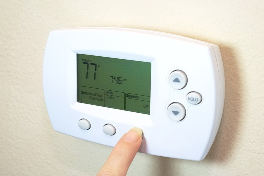 Honeywell RTH6580WF Wi-Fi 7-Day Programmable Thermostat ...