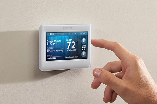 honeywell 1005 w1 wi fi smart thermostat our in depth review. Black Bedroom Furniture Sets. Home Design Ideas