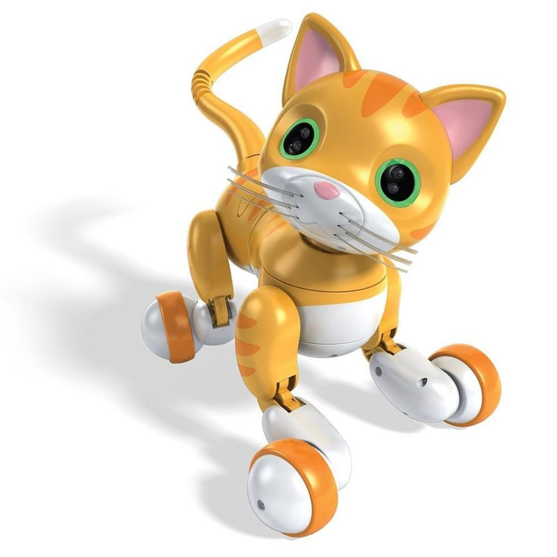 Robot Cat Toy >> Zoomer Kitty Robot Cat Review Cute And Cuddly Wins The Day