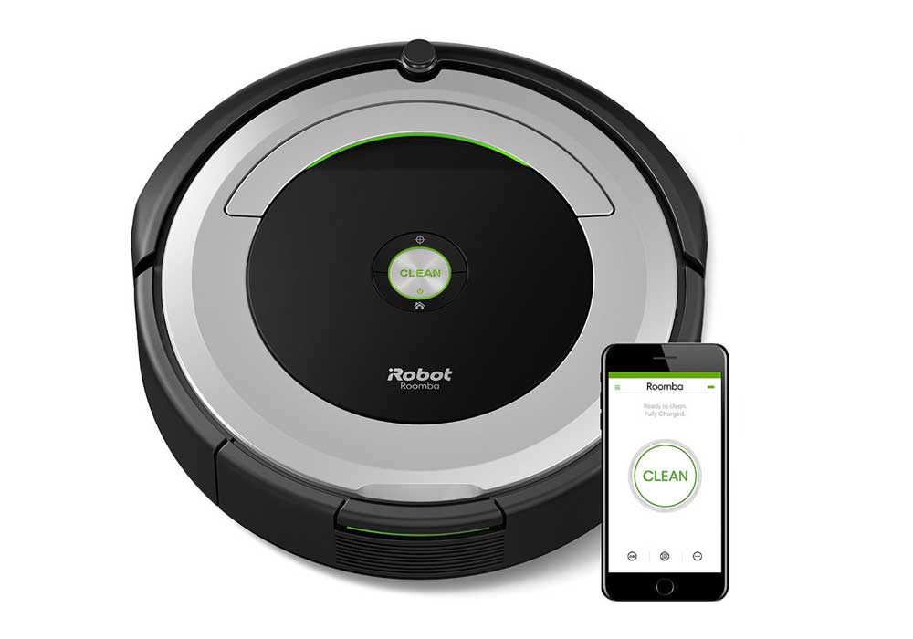 roomba vacuum cleaner irobot roomba 690 robotic vacuum cleaner review 10367
