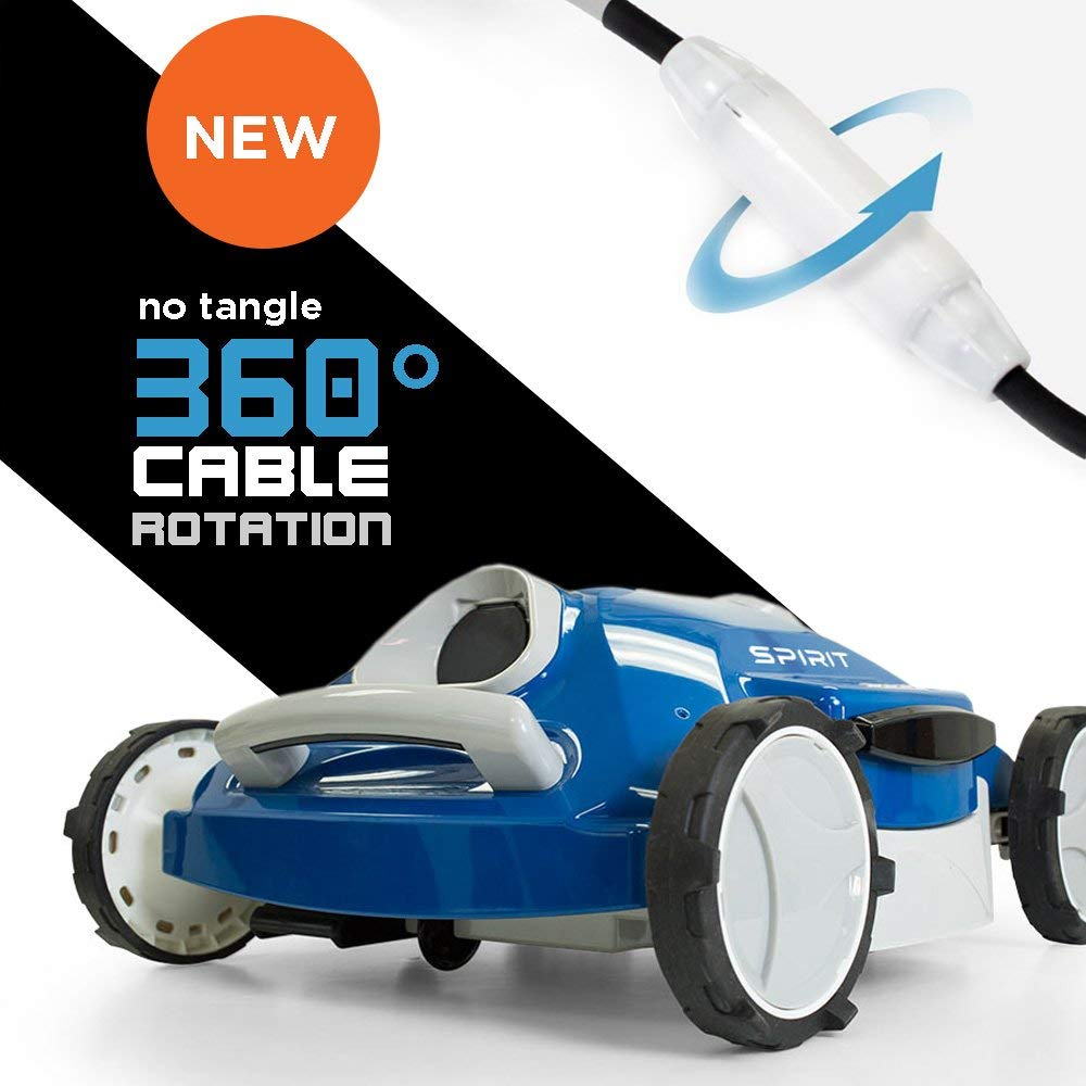 Aquabot Spirit Robotic Pool Cleaner Review